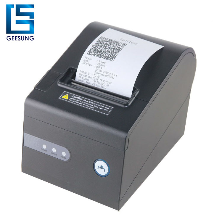 2018 Hot sale pos hardware 80 mm printer thermal print support Linux system