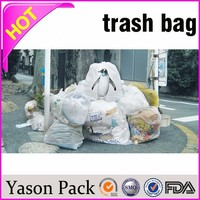 Yason plastic bag for garbage car garbage bags draw string trash bag