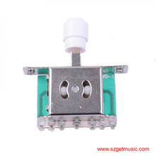 Guitar 5 WAY PICKUP SELECTOR SWITCH FOR FD replacement with White Tip