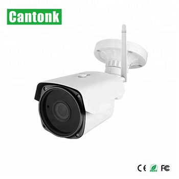 Cantonk 1080P  Wireless IP Camera Bullet With External SD Card Slot