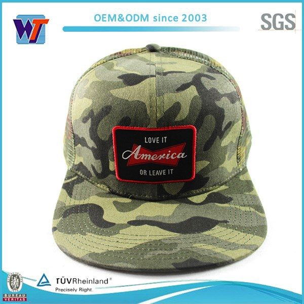 Military Green Camo American Snapback Hat Paypal