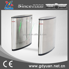 finger controller integrated access control security systems factory flap turnstile