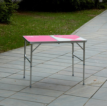 3ft lightweight folding stall custom table