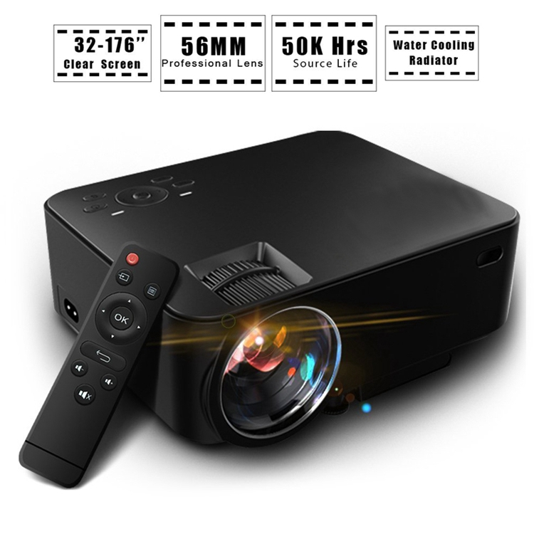 Cheap 1000:1 Digital Mobile Phone China Android Mini Projector
