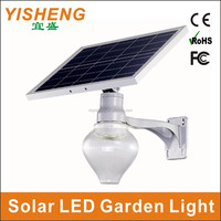 China Manufacture All-in-one LED Solar Street Lamp With Day & Night Light Control 10 Hours Work last 3 - 5 rainy Days