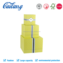 custom printed 90 degree sharp edged 2 pieces garment/clothing/apparel packaging box