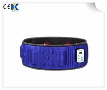 Electric Body Massage Vibrator Muscle Massage Belt With Heat