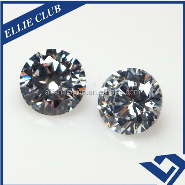 Hot Sale White Light Cut Shape Synthetic Cubic Zirconia Gemstones For Jewelry