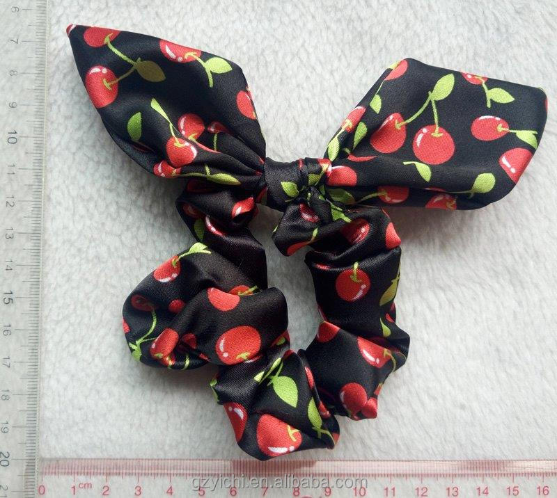 2017 fashion Wholesale hair tie bracelet women and kids Private label hair accessories Hair scrunchies bulk