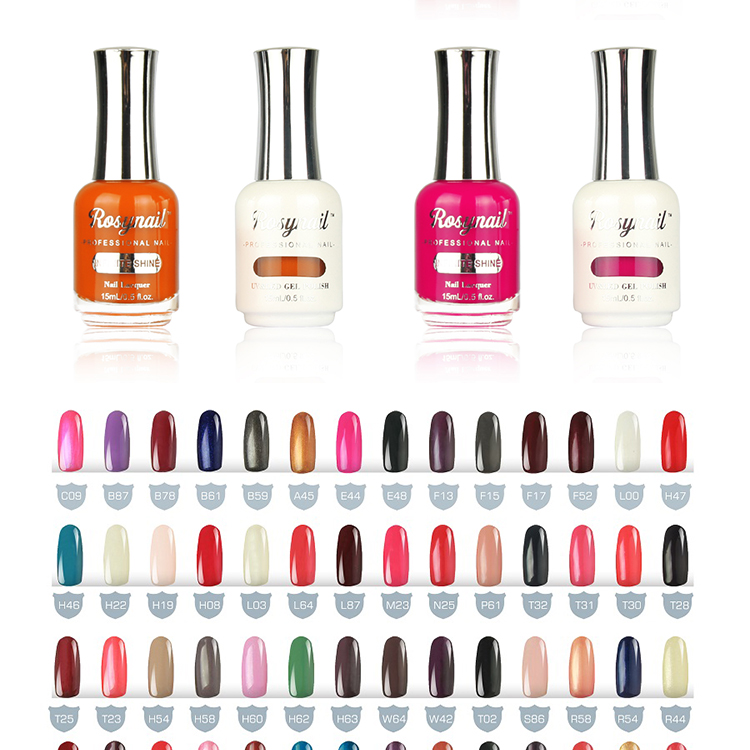 Create your own brand private label uv/led color changing gel polish