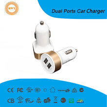 5 V 1A 2.1A 2A wireless electric car charger Universale Dual USB Car Charge