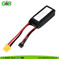 GEB 11.1v helicopter RC rechargeable lipo battery 1300mah with 60C discharge rate