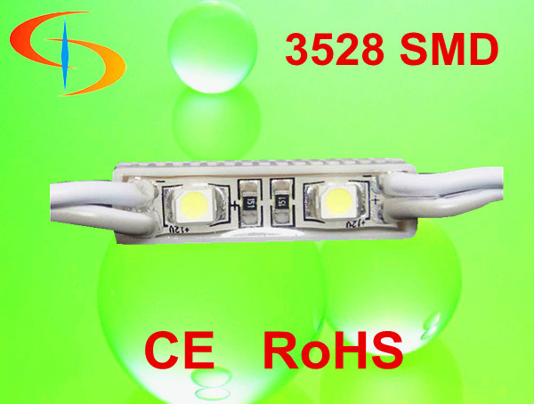 High Quality Waterproof SMD 3528 LED Module 2 chips 3528 Epistar LED module 12v 0.24w