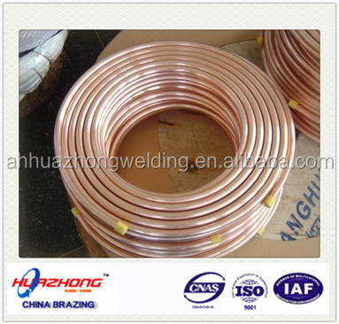 Pancake Coil Copper Pipe for Air Condition Or Refrigerator Application air conditioner copper coil pipe
