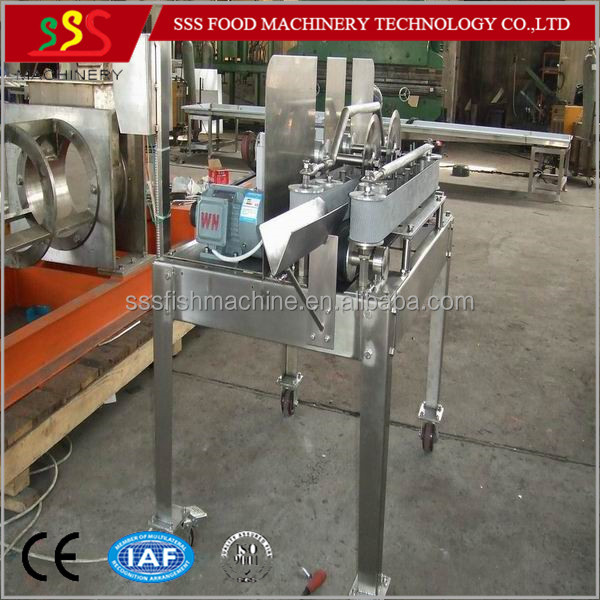 For tilapia salmon catfish trout automatic fish filleting for Fish fillet machine