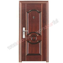 Cheap Sri Lanka's bedroom security steel door design