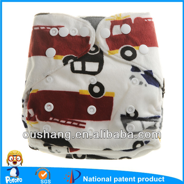 Pororo truck print one size fits all reuable breathable baby dream babies r us cloth diapers