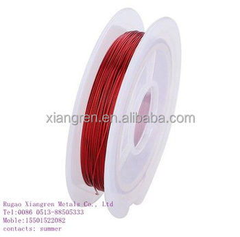 colorful copper wire / jewelry craft wire/wire for handicraft