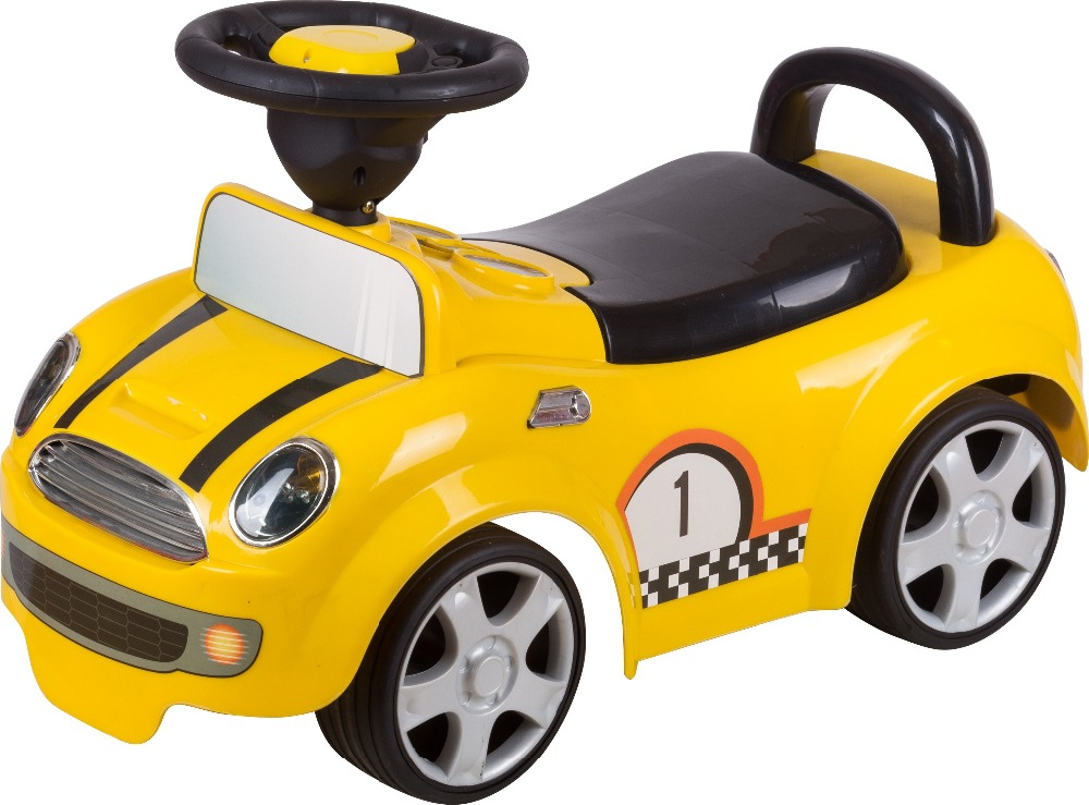 Baby small ride on toy car, cycle racing toy car