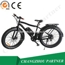 new developed 250W/500W 36V lithium battery 26 inch fat tire electric bike made in China