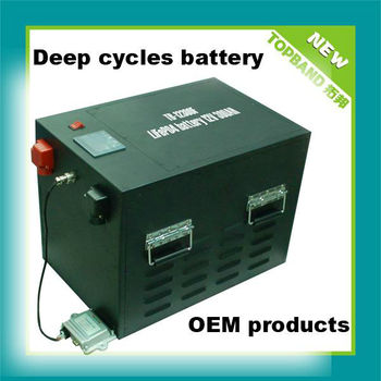 12V Solar Storage Battery Lipo Battery 300Ah