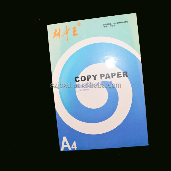 Hot wholesale a4 size whit copy paper 70 gsm 75 gsm from Jinbao