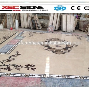 Popular Waterjet Marble floor Medallion Patterns