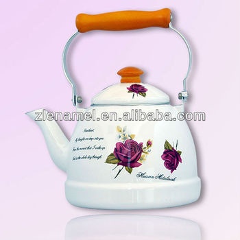 Home Using Enamel Teapot Emaye Caydanlik Colorfull Kettle