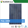 Bluesun best price home use 235w poly solar panel made in china