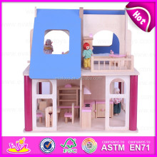 2016 top fashion funny baby toy wooden house W06A136-M22