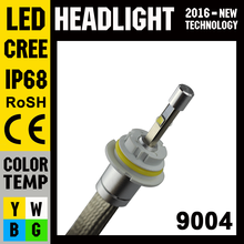 Free Sample Car Accessories Parts 12V 9004 LED Headlights Headlight Bulbs
