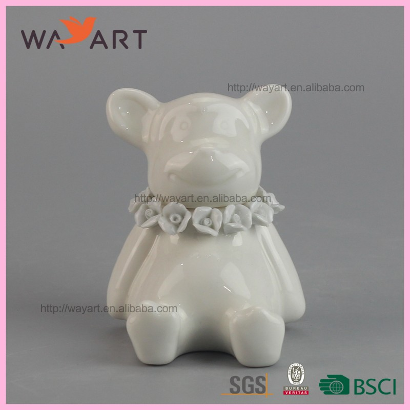 Fashion Animal Ceramic Fragrance Diffuser Wick For Gift
