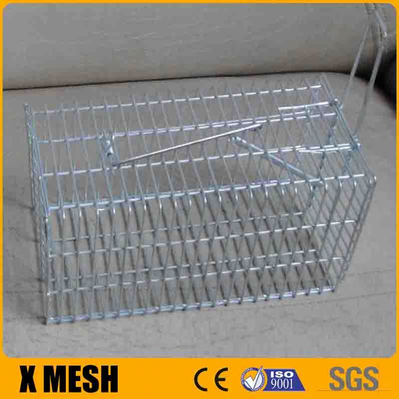 "unique design 1""x1/2"" wire mesh electric mouse trap with 31x17x16"