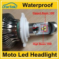 Hot Sale Auto Parts Waterproof All-in-one CREE Motorcycle Led Headlight Bulb DC 8V-32V 15W H4, H6,
