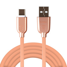 New both ends metal micro typec cable usb to usb c charger cable for cell phone