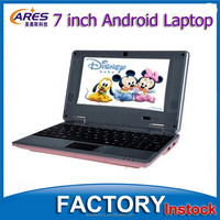 "Cheap Dual Core CPU Android 4.2 OS CE ROSH 7"" Laptop Mini Notebook"