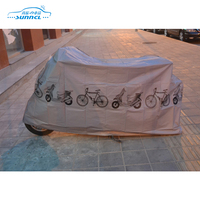 Folding Polyester Bicycle Rain Cover