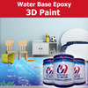 water based 3d epoxy paint for home deco concrete floor