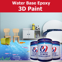 water based 3d epoxy paint for wall deco