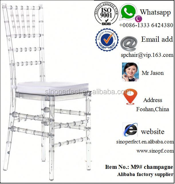 crystal royal chiavari chair