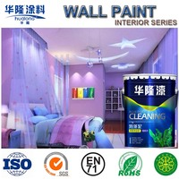 Hualong Degrade Formaldehyde Anti Crack Interior Emulsion Paint