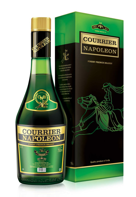 Courirer Napoleon French Brandy-Green