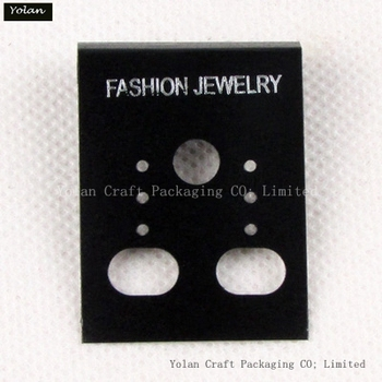 2015 BEST SALES EARRING CARD,Custom-made and could be print logo