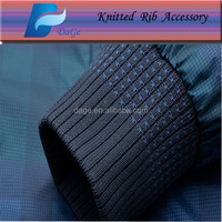 High quality 3x2 knitted rib fabric for T-shirt