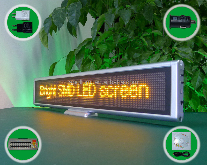 320mmx160mm 1r1g tri-color message display,double color moving message display sign ,tri-color led display