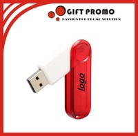High Quality Plastic USB Flash Drive With Logo
