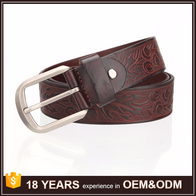 New Latest Designer Vintage Genuine Leather Belts for Men