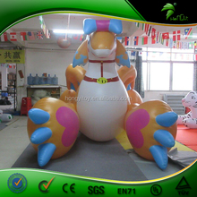 Hongyi Creative New Design Inflatable Toy ,Giant Poor Playing Inflatable Animal Toy