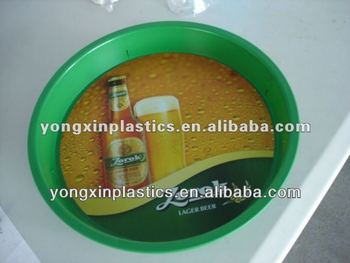 pastic non-slip custom plastic trays for food serving