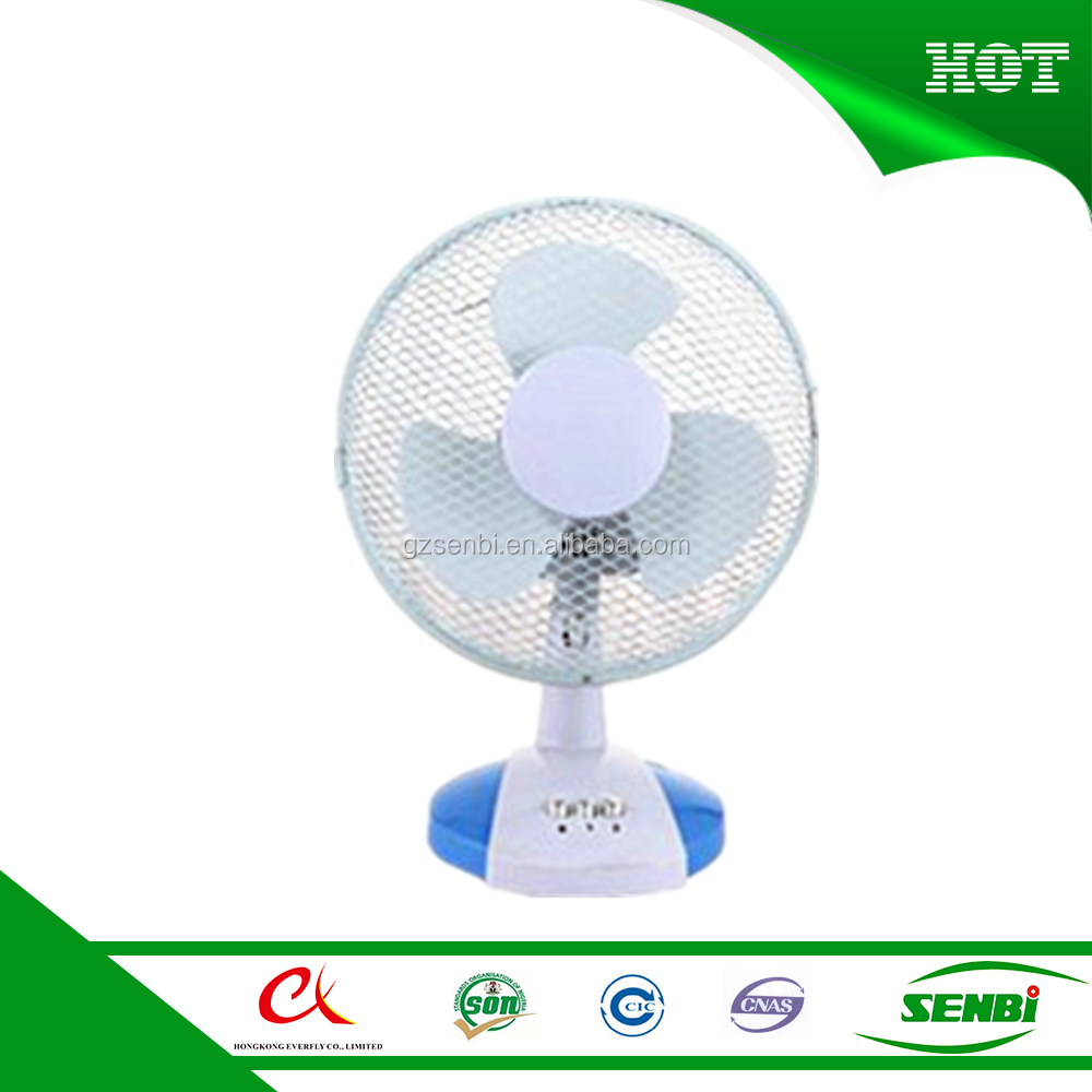 12 inch electric ac mini table desk fan with mesh grill
